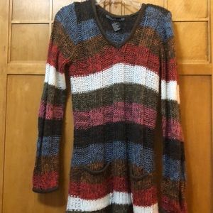 Colorful fall sweater